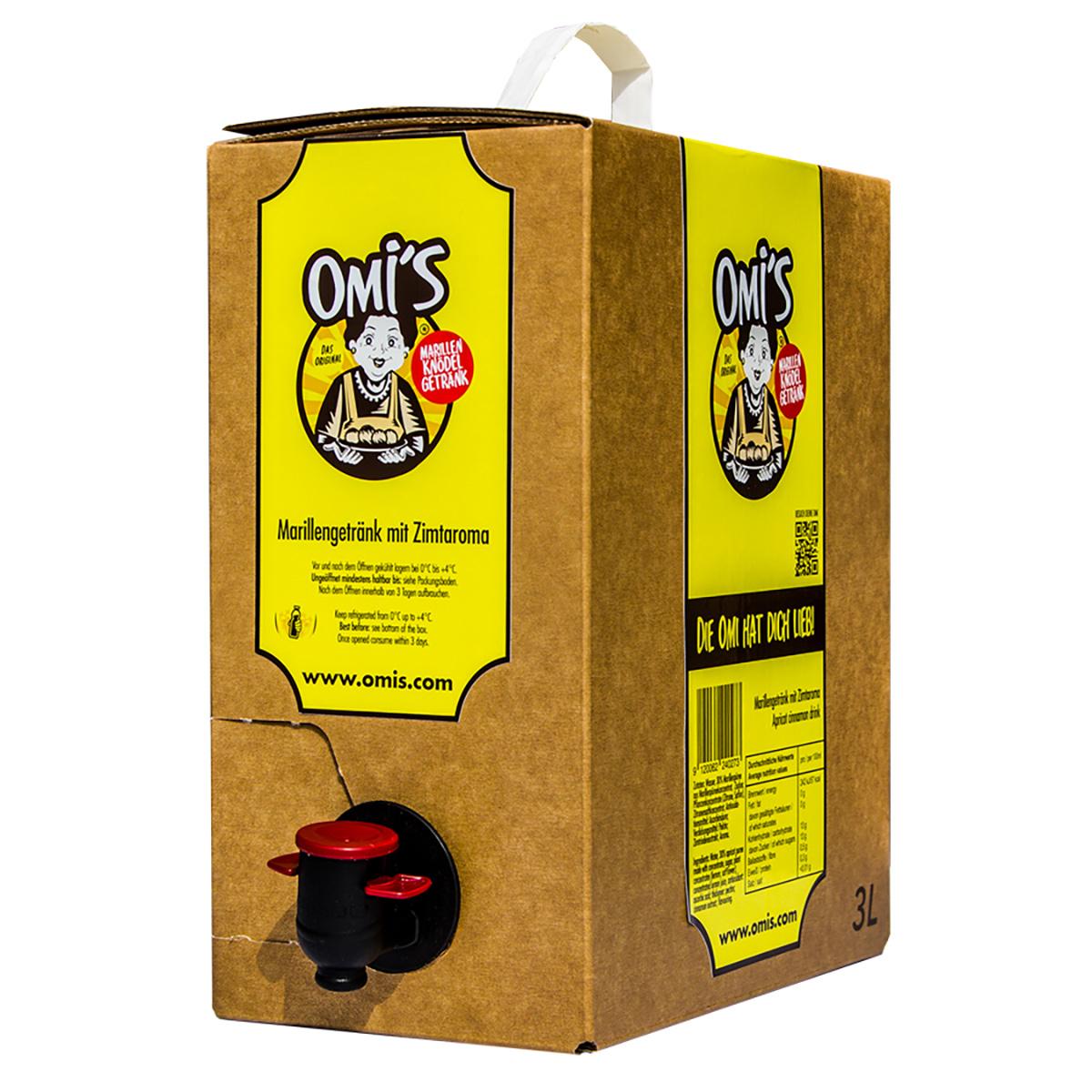 OMI´S MARILLENKNÖDEL 3L BAG IN BOX